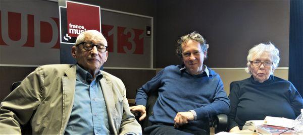 Serge Korber et Michèle Bernstein interview France Musique