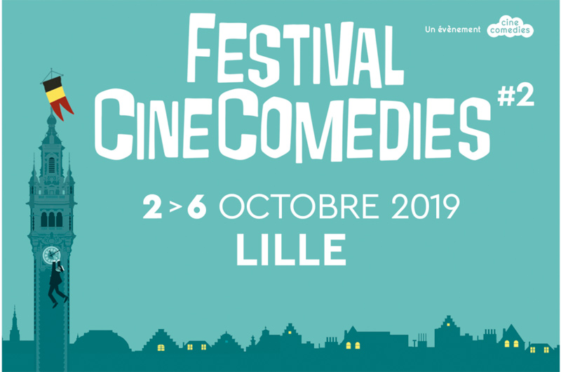 Festival Ciné Comédies de Lille octobre 2019